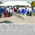 Groundbreaking of Cudjoe Regional Wastewater System